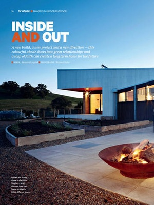 Screenshot Grand Designs Australia Magazine on iPad