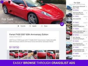 Screenshot Reader for Craigslist on iPad