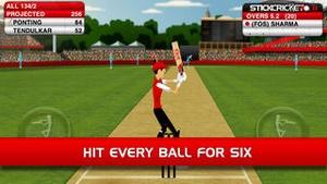 Screenshot Stick Cricket on iPhone