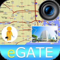 Street View with Camera Maps, Places Search, Route & Track path finder