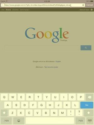Screenshot Unblue on iPad