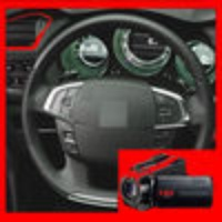 Speedometer Plus HD Video Camera with Automatic Splitter