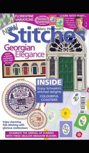 Screenshot New Stitches Magazine on iPhone