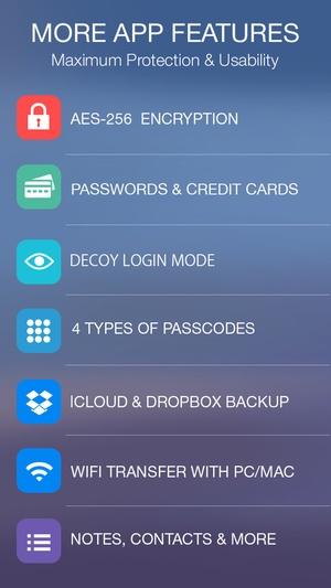 Screenshot Smart Safe Pro on iPhone