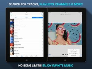 Screenshot Musify for YouTube on iPad