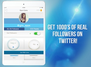 Screenshot Follow for Twitter on iPad