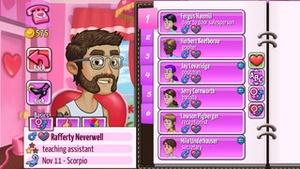 Screenshot Kitty Powers' Matchmaker on iPhone