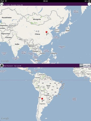 Screenshot AntipodeanLite on iPad