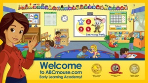 Screenshot ABCmouse.com  on iPhone