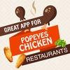 Great App for Popeyes Chicken Restaurants