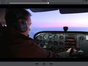 Screenshot VFR Pilot Communications on iPad