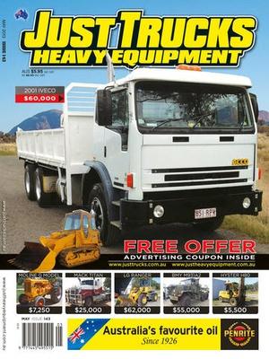 Screenshot Just Trucks Magazine on iPad