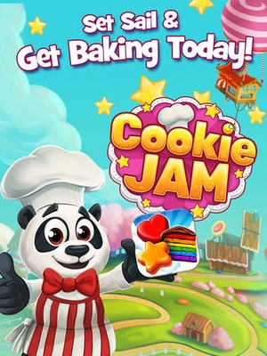 Screenshot Cookie Jam on iPad