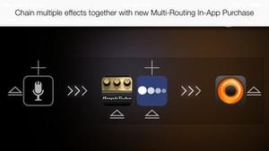 Screenshot Audiobus on iPhone