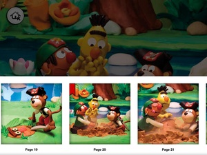 Screenshot Bert and Ernie's Great Adventures: Ahoy, Pirates! on iPad