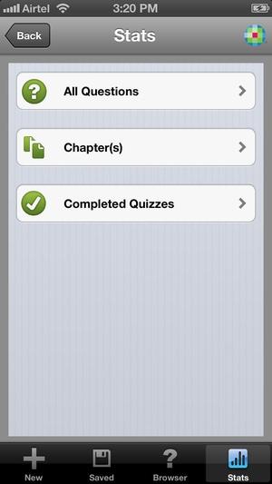 Screenshot Lippincott's Prep for NCLEX on iPhone