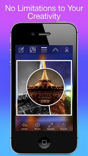 Screenshot Photo Collage Creator on iPhone