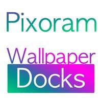 Pixoram Wallpaper Overlays for Color Docks