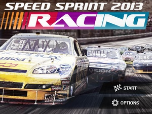 Screenshot Speed Sprint Racing 2013  on iPad
