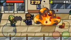 Screenshot Zombieville USA 2 on iPhone