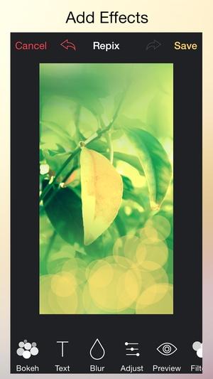 Screenshot Wallax on iPhone
