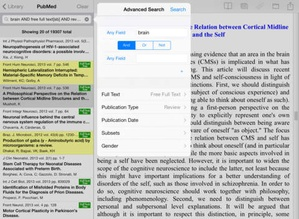 Screenshot Bookends On Tap on iPad