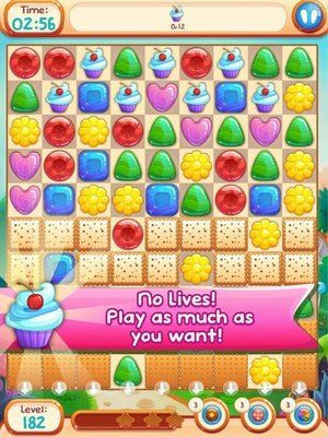 Screenshot Sweet Candies 2 on iPad