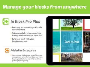 Screenshot Kiosk Pro Plus on iPad
