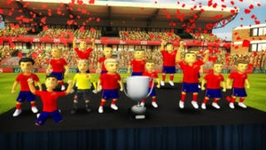 Screenshot Striker Soccer Euro 2012: dominate Europe with your team on iPhone