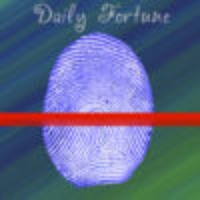 Daily Fortune Finger Scan