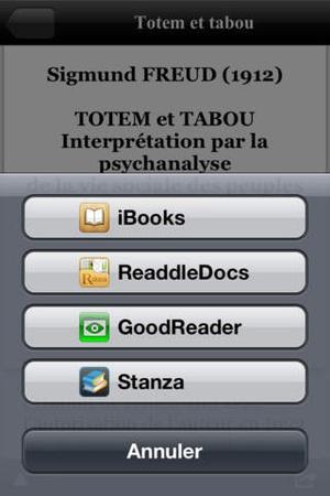 Screenshot Anthologie de la Psychologie on iPhone