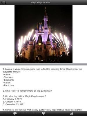 Screenshot Fun for Disney World Lines on iPad