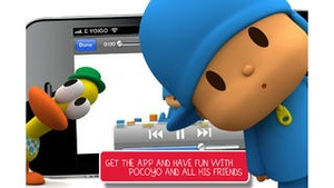 Screenshot Pocoyo TV on iPhone