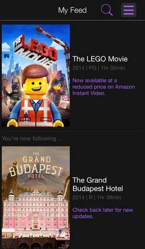 Screenshot Roku on iPhone