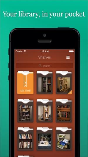 Screenshot Evershelf on iPhone