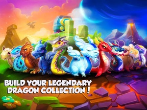 Screenshot Dragon Mania Legends on iPad