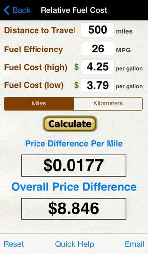 Roadtrip Gas Cost Calculator app downloads & alternatives