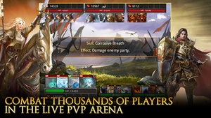Screenshot Heroes of Camelot on iPhone