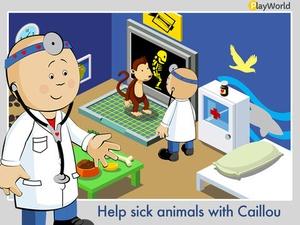 Screenshot PlayWorld Caillou the Hero on iPad