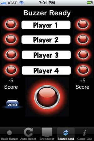 Screenshot PickMeBuzzer on iPhone