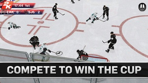 Screenshot NHL 2K on iPhone