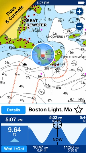 Screenshot Boating USA on iPhone
