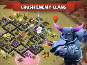 Screenshot Clash of Clans on iPad