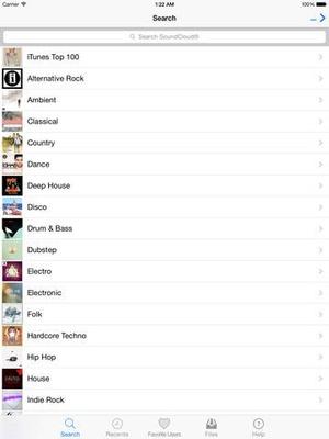 Screenshot UnlimMusic Free Music Download on iPad
