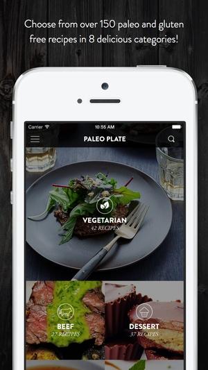 Screenshot Paleo Plate Pro on iPhone