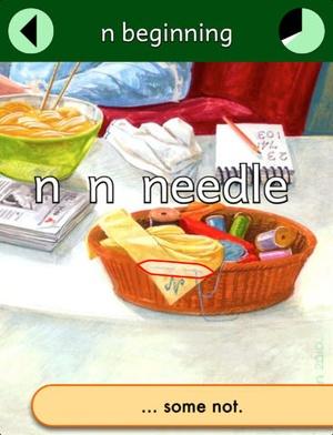 Screenshot Profs' Phonics 2 on iPad