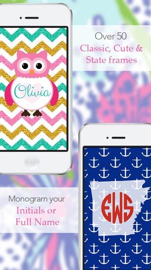 Screenshot Monogram Lite on iPhone