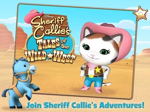 Screenshot Sheriff Callie's Tales of the Wild West on iPad