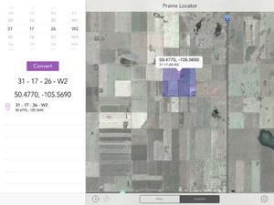 Screenshot Prairie Locator Mobile on iPad