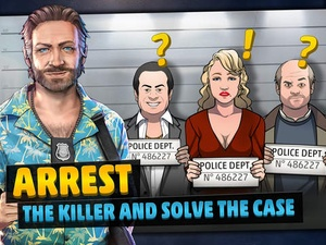 Screenshot Criminal Case on iPad